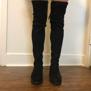 Stuart weitzman over knee boots.